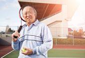 Jugador de tenis Senior