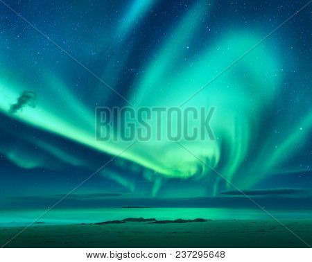 Aurora Aurora Borealis Above The