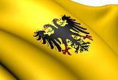 Banner von der römisch-deutscher Kaiser (nach 1400).