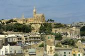 image of mosk  - ancient architecture of gozo island in malta - JPG
