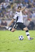 VALENCIA, España - 29 de septiembre, UEFA Champions League, Valencia C.F. vs Manchester United, Mestalla