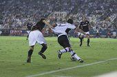 VALENCIA, SPAIN - OCTOBER 2 - Professional Soccer League between Valencia C.F. vs AT. Bilbao - Mesta