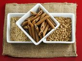 image of whole-grain  - Whole grains rice and beans for healthy cooking - JPG