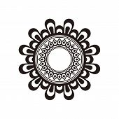 Antique Black Ornaments, Baroque Ornaments, Scroll Ornaments, Border Carving Ornaments, Floral Ornam poster