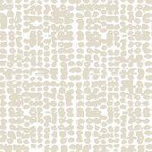 Ivory White Grid Pattern. Vector Shibori Line Seamless Print. Organic Watercolor Background. Tie Dye poster