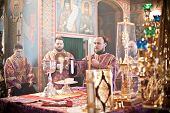 Orthodox Liturgy with Bishop
