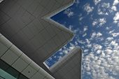 Modern Architecture In Blue Sky
