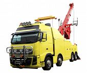 picture of wreckers  - heavy duty wrecker used for towing semi trucks - JPG