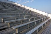 Football Field Bleachers