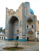 Balkh Mosque In Afghanistan