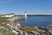 A costa de New Hampshire; Farol