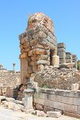 picture of brothel  - Ruins of an antique building in an antique city the Ephesus - JPG