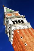 St. Mark's Campanile is the bell tower of St. Mark's Basilica in Venice, Italy, located in the Piazz