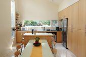 Dining Room/Kitchen Interior