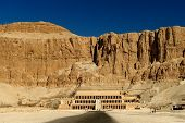Awesome Temple of Queen Hatshepsut (1508-1458 BC), between the Valley of Kings and the Valley of Que