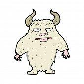 cartoon minotaur monster