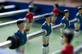 Blue Table Soccer Players