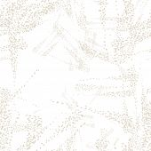 White And Beige Vector Seamless Check Pattern. Allover Pattern. Ink Grunge Grid. Hand Drawn Seamless poster