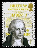 Britain William Wilberforce Postage Stamp