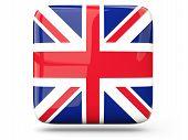 Square Icon Of United Kingdom