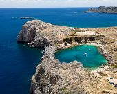 St Paul's Bay Lindos Rhodes