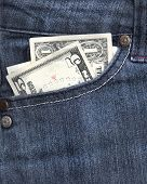 Money In Jean Pocket