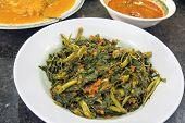 Malaysian Sambal Chili Kangkong