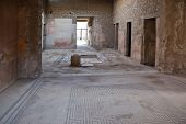 Pompeii. Interior Of House