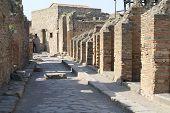 Pompeii. Street