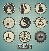 Vector Set: Zen Labels