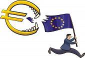 euro zone crisis - threat to the euro zone
