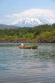 Постер, плакат: Япония Гора Фудзи