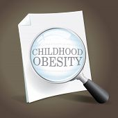 foto of obese children  - Taking a closer look at the childhood obesity epidemic - JPG