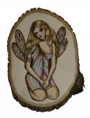 Fairy On Wood