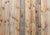 Uncolored Wooden Wall. Photo Background Texture