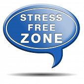 stress free zone totally relaxed without any work pressure succeed in stress test trough stress mana