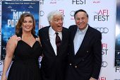 LOS ANGELES - NOV 9:  Arlene Silver, Dick Van Dyke, Richard M. Sherman at the AFI FEST