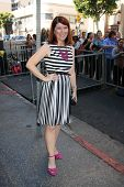 LOS ANGELES - NOV 8:  Kate Flannery at the Mariska Hargitay Hollywood Walk of Fame Star Ceremony at