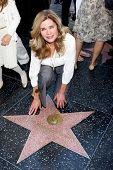 LOS ANGELES - NOV 8:  Jayne Marie Mansfield at the Mariska Hargitay Hollywood Walk of Fame Star Cere