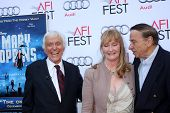 LOS ANGELES - NOV 9:  Dick Van Dyke, Karen Dotrice, Richard M. Sherman at the AFI FEST