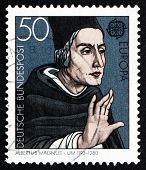 Postage Stamp Germany 1980 Albertus Magnus, Dominican Friar And Bishop