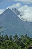 Mt. Merapi Central Java - Indonesia