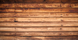 stock photo of uncolored  - Texture of uncolored wooden lining boards wall - JPG