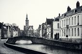 Fairy Tale Town Of Bruges