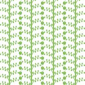 Background of seamless apple tree pattern