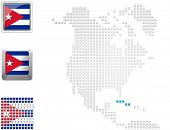 Cuba On Map Of North America