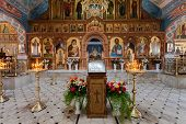 Samara, Russia - April 20, 2014: Interior Church Of The Resurrection In The Holy Resurrection Monast