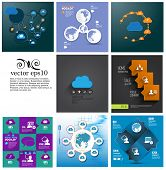 Cloud Computing concept set