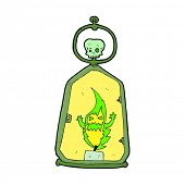 cartoon spooky lantern