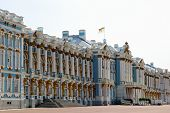 The Catherine Palace In Pushkin (leningrad Region) In Pushkin, Russia